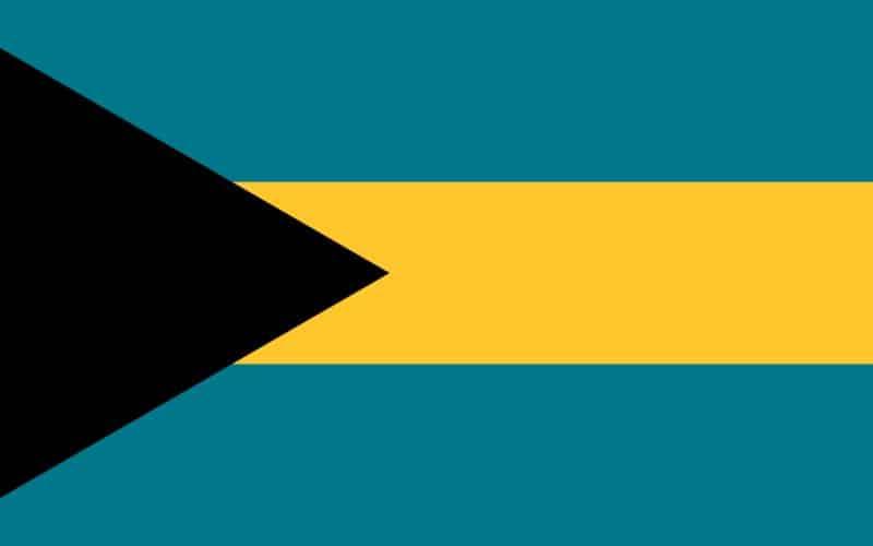 Bahamas flagga