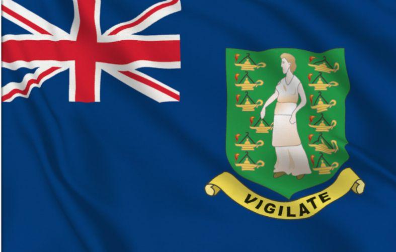 Brittiska Jungfruöarna flagga