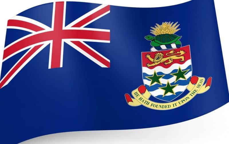 Caymanöarna flagga