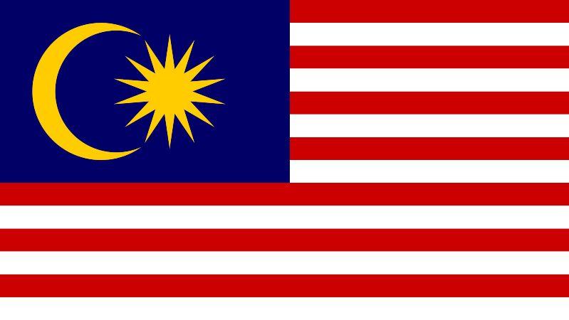 Malaysia flagga