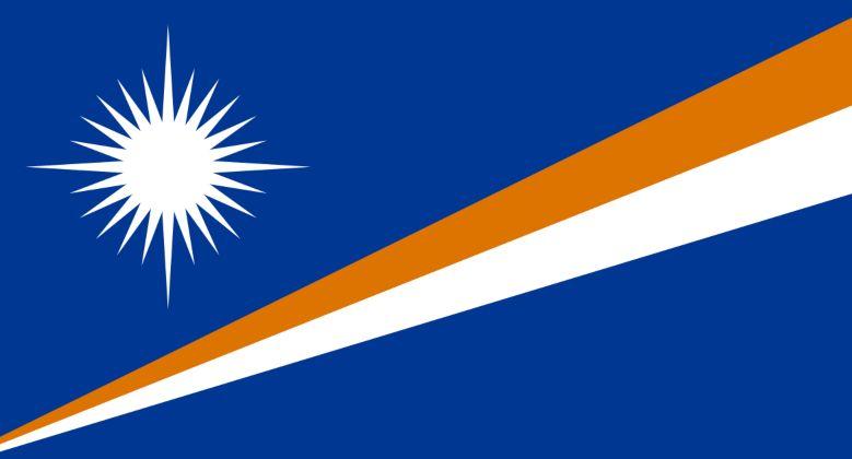 Marshallöarna flagga