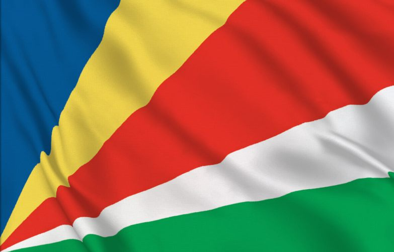 Seychellernas flagga