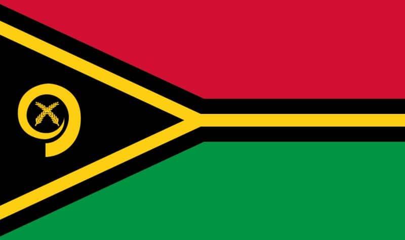 Vanuatu flagga