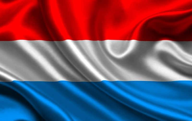 Luxemburg flagga