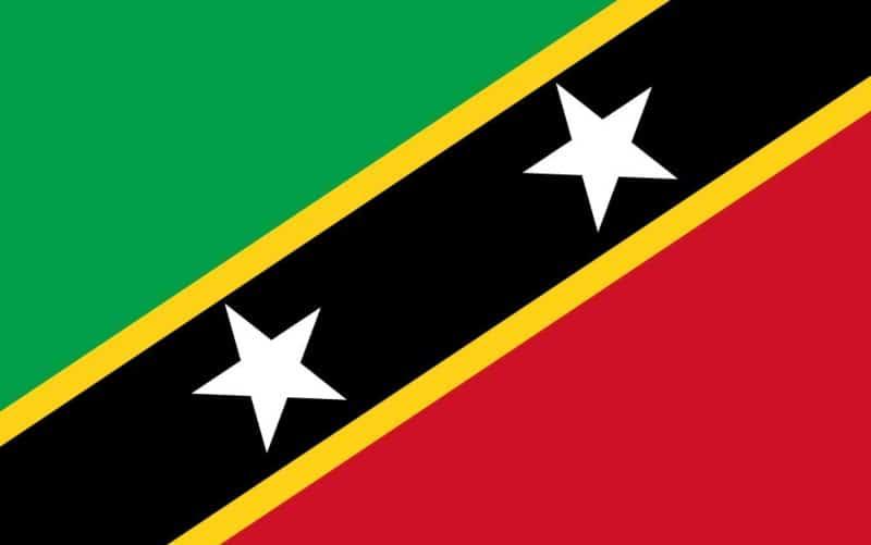 Saint Kitts, Nevis flagga