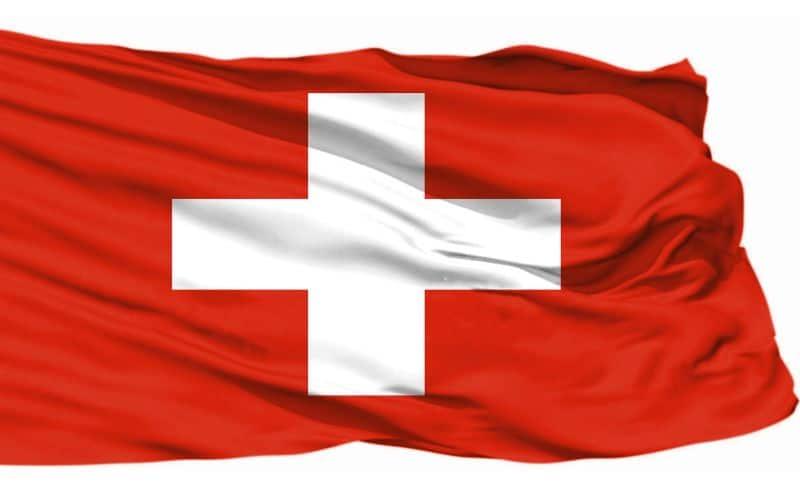 Schweiz flagga