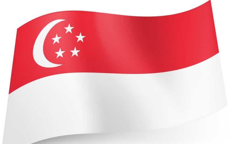 Singapore flagga